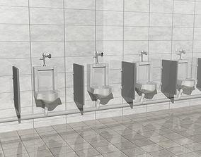realtime Mensroom Urinal 3D model