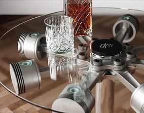 3D model Piston Coffee Table
