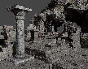 3D model Ancient Ruins Pack