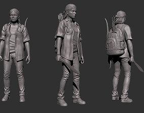 3D printable model Ellie The Last of Us Part 2
