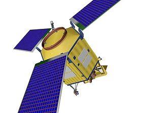 Sentinel 5-P - ESA pollution monitoring satellite 3D model