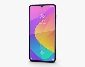 Xiaomi Mi 9 Lite Aurora Blue 3D