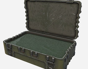 Low Poly PBR Game Ready Military Pelican Case 3D asset