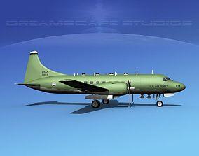 3D model Convair T-29 USAF V06