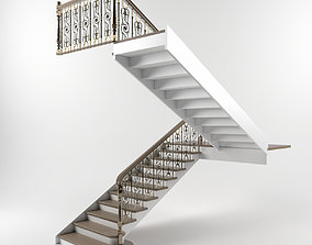 3D interior stairs