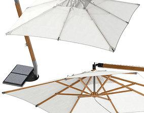UNOPIU Martin Beach Umbrella 3D