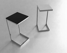 COFFEE TABLE Simple 60cm 3D model low-poly