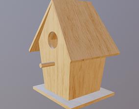 3D asset game-ready Bird House