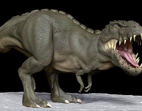3D print model Realistic Dinosaur T-Rex tyrannosaurus