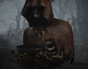 corpse 3D model VR / AR ready