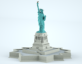 Statue of Liberty New York 3D
