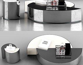 3D model Minotti Shields Coffee Tables