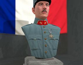 Charles De Gaulle 3D asset