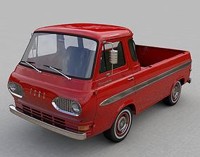 FOR-D ECONOLINE E100 PICKUP 1962 3D