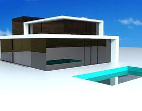 modernvilla Modern Villa 3D model