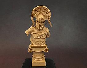 spartan bust figurines 3D print model