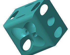 Dice toys polygon 3D printable model
