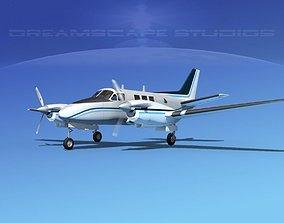 3D Beechcraft King Air C90 V11