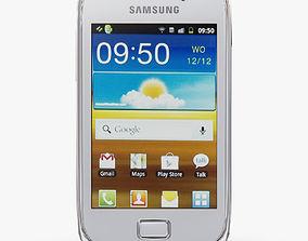 Samsung S6500 Galaxy Mini II White 3D model