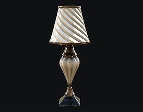 Vintage Lamp PBR Game Ready 3D model