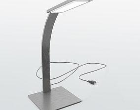 Modern brushed aluminium lamp - V-Ray 3D model