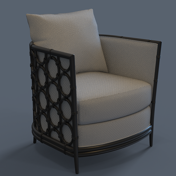 Mcguire A 80 Barrel Lounge Chair