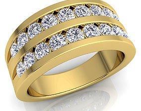 luxury Diamond Ring 3d Model print