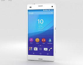 3D model Sony Xperia A4 SO-04G White