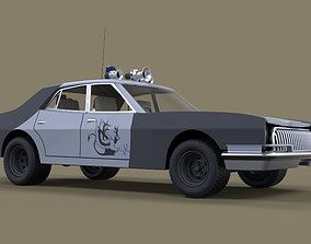 Vehicle from Mad Max II 3D model