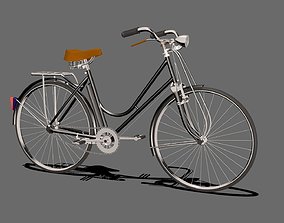 heavy duty bicycle 3D