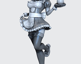 Dragon ball custom maid n 18 by 3D printable model 2