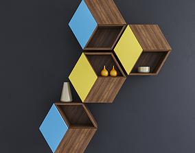 Wall Mount Shelf 3D model