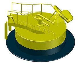 Calm Buoy-Single Point Mooring 3D printable model