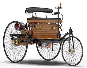 3D model industrial Benz Patent Motorwagen