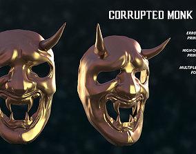 3D print model Corrupted Monk Mask Sekiro Fan Art