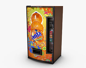 3D model Vending Machine Fanta