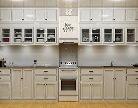 kitchen cabinet 3D printable model interior