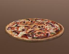 Food Pack of Pizza 3D asset