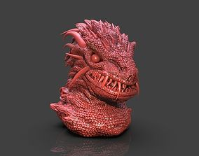 3D printable model Kaiju Bust