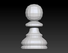 3D printable model Chess Piece - Pawn