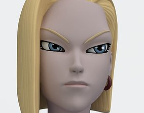 Android 18 Rigged 3D asset