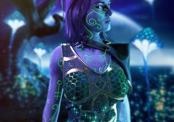 Polaris Sector. Magellan girl