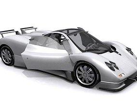 3D model Pagani Zonda S