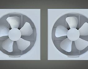 Exhaust Fan 3D asset
