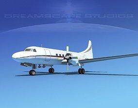 3D model Convair CV-580 Corporate 2