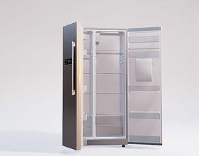 3D double door fridge home appliance