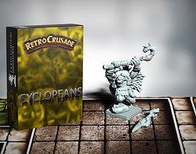 Retrocrusade - Cyclopeans set 3 3D print model