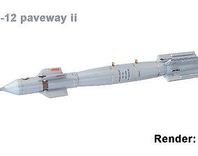 GBU-12 paveway ii 3D model