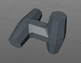 3D print model breakwater