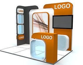 3D model Exhibition Stand - ST0013